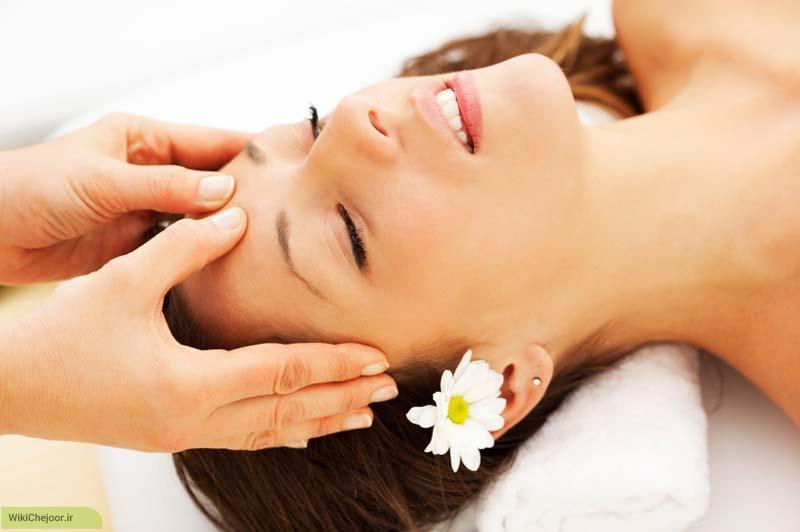 روش های مربوط به ماساژ مراکز حساس روی سر: