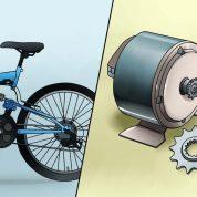 چگونه یک دستگاه یو اس بی را از طریق راندن دوچرخه شارژ کنیم؟