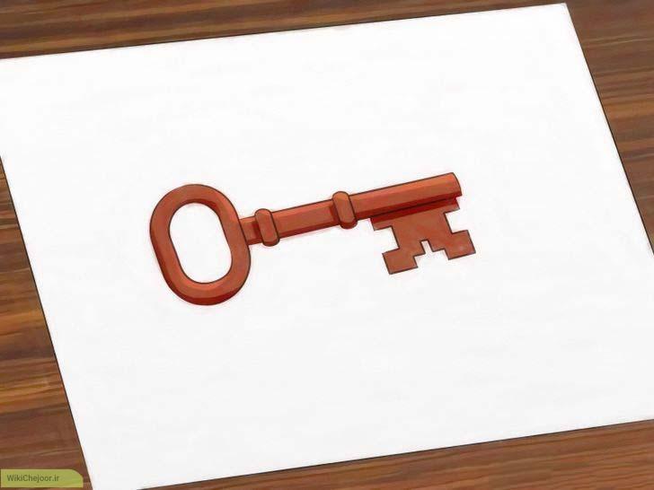 چگونه یک کلید رسم کنیم؟؟