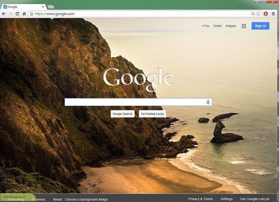 چگونه به صفحه اول گوگل تصویر اضافه کنیم