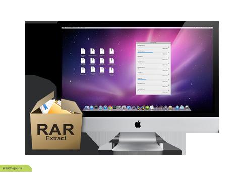 چگونه فایل هایی با پسوند RAR را استخراج کنیم