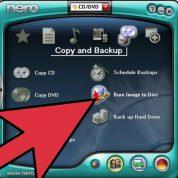 چگونه فایل های ISO  را با استفاده از نرم افزار Nero رایت کنیم