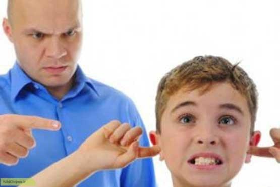 دورکردن کودکان از عامل لجبازی