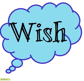 زمان افعال بعد از wish