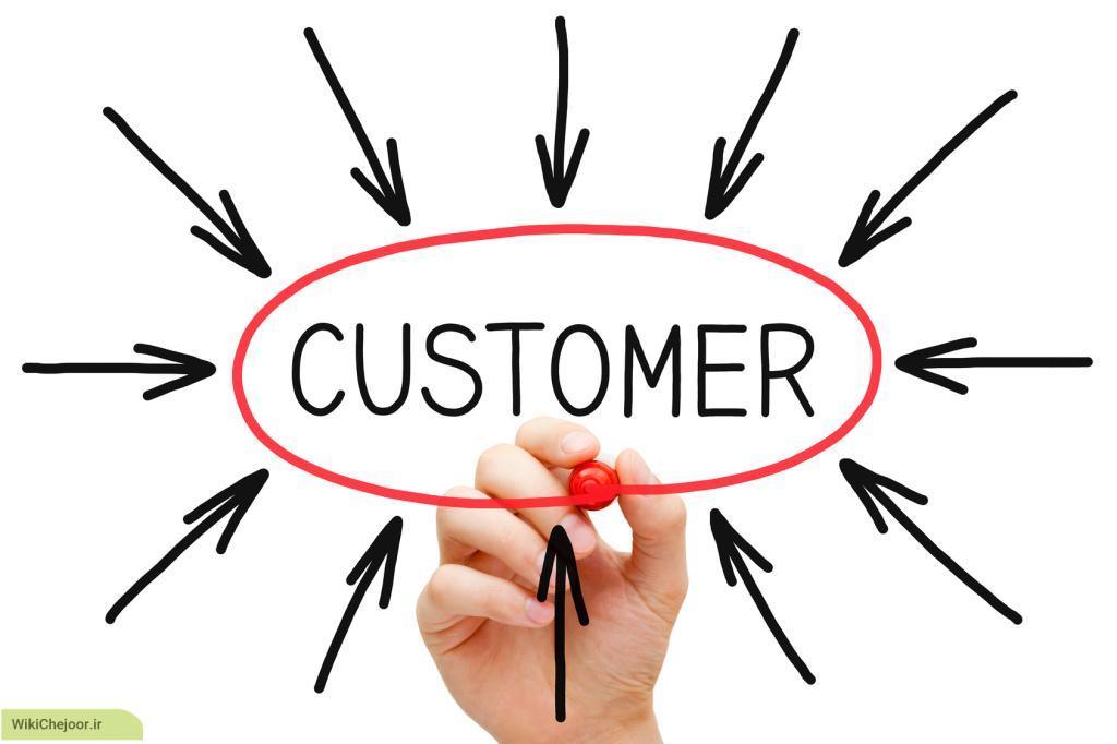 بررسی سوددهی و بهره وری مشتریان