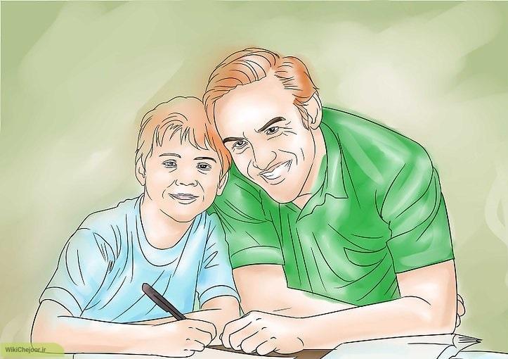 در کنار فرزندتان حضور داشته باشید