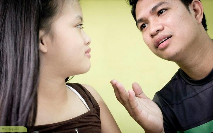 نحوه ی رفتار با دختر نوجوانتان