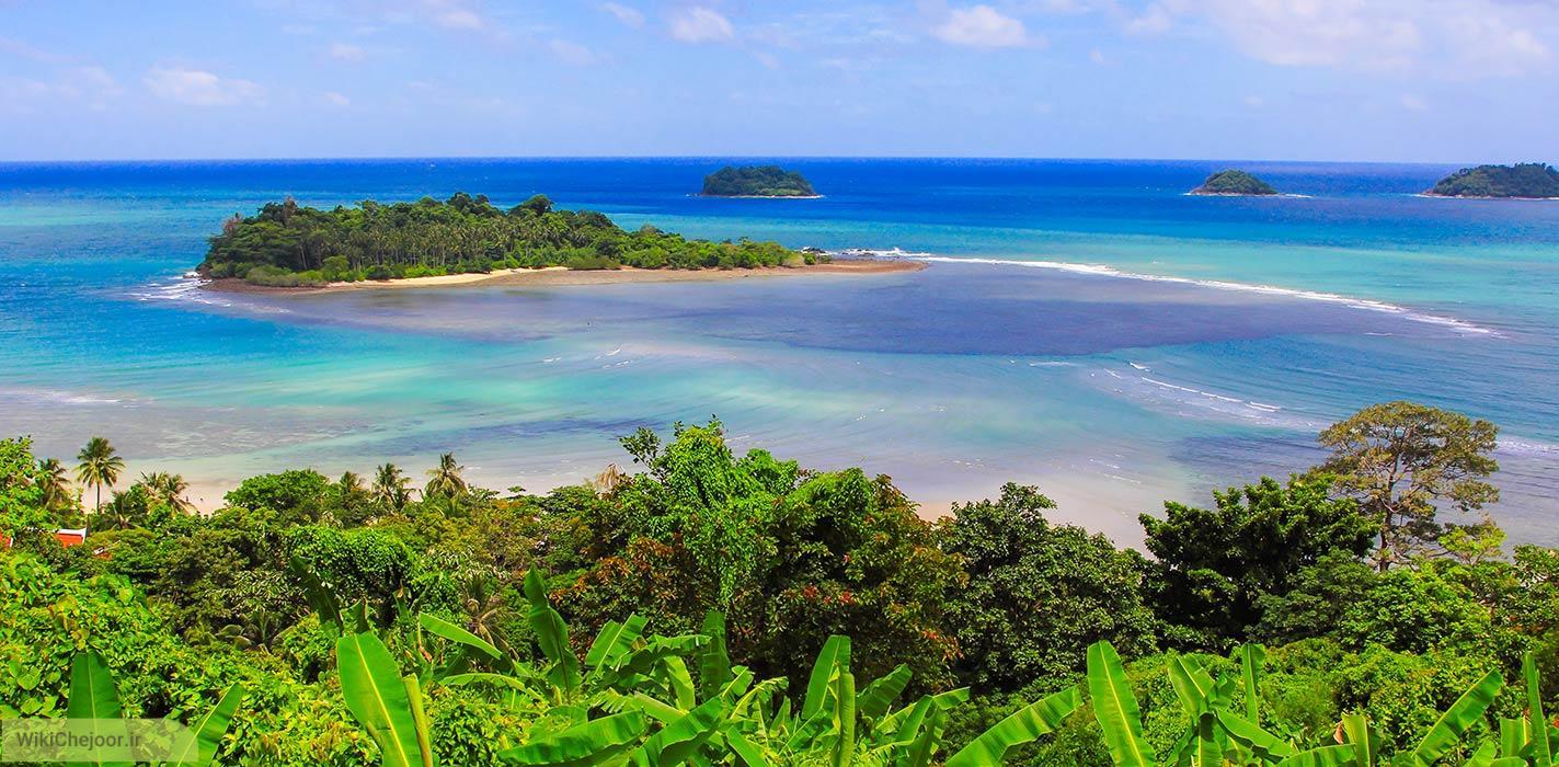 سفر كردن به جزاير آفتابي kohchang در تايلند