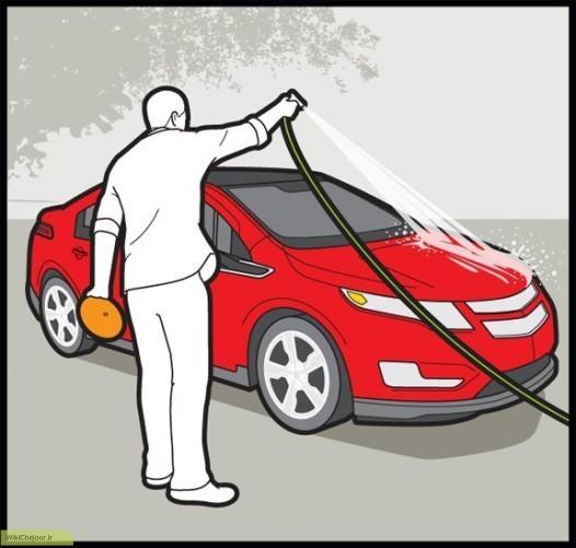 آموزش اصولی پولیش خودرو