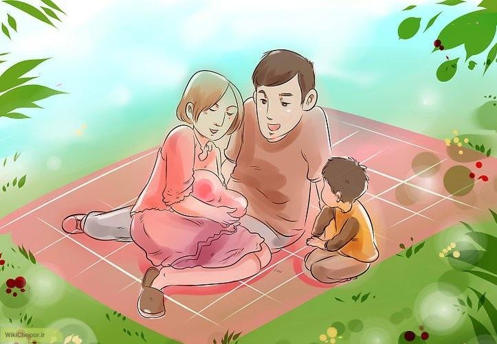 چگونه باید به کودک کمک کنیم تا نوزاد جدید را قبول کند؟