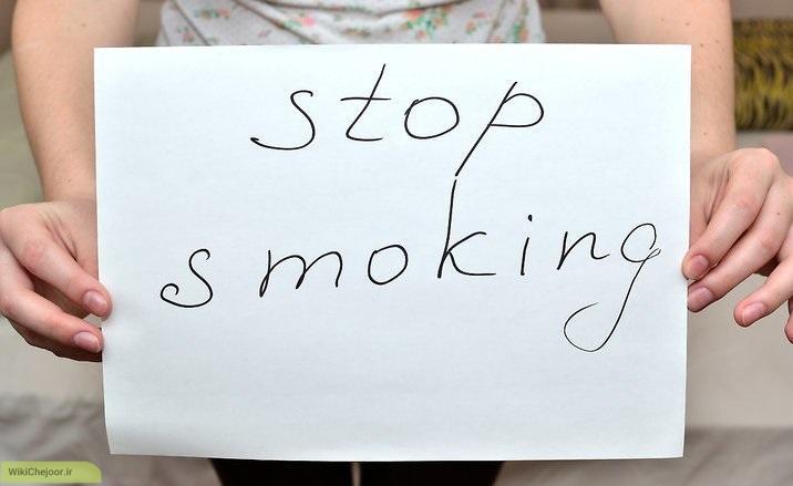 ترک سیگار جهت جلوگیری از خفگی کودک (SIDS)
