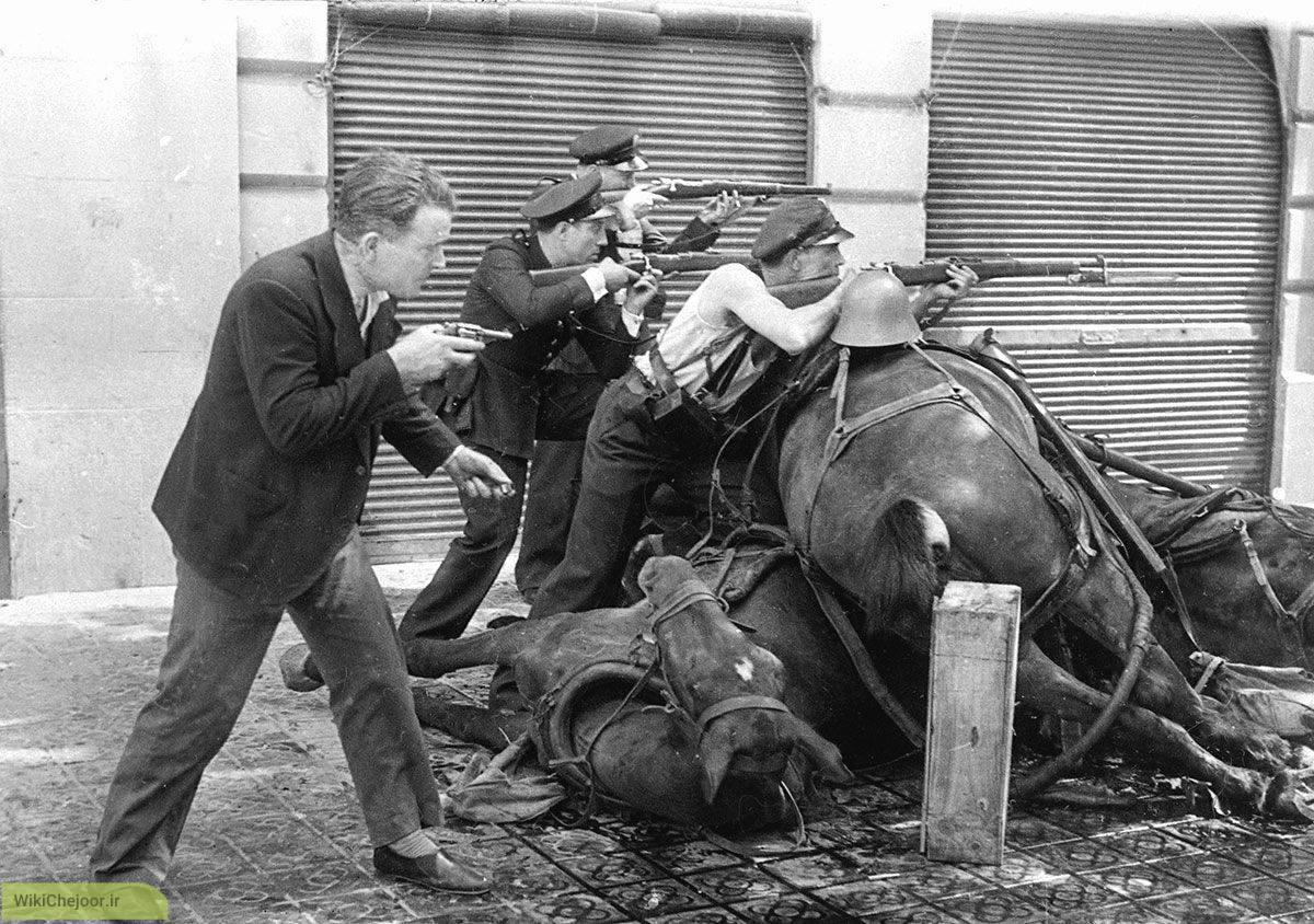 اسپانیا و جنگ داخلی