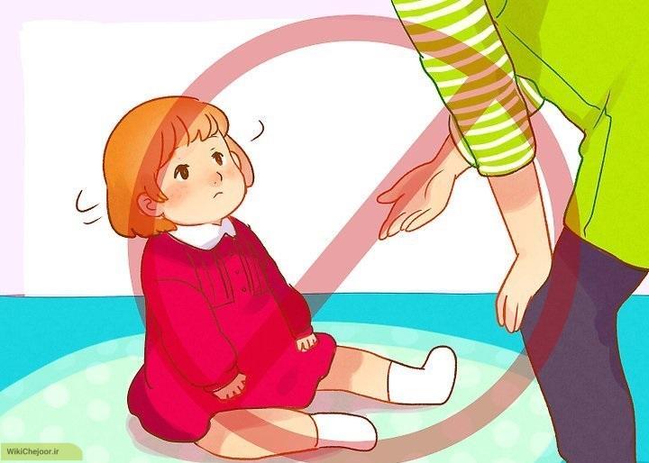 کمک کنید کودکتان در اتاق گشت زنی کند.