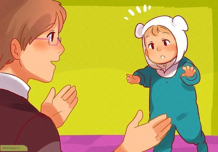 کمک کنید کودکتان راه برود