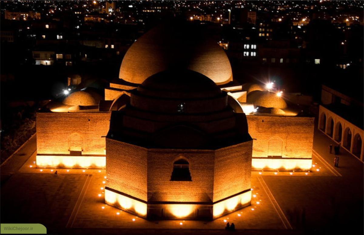 چگونه به مسجد کبود تبریز برویم؟