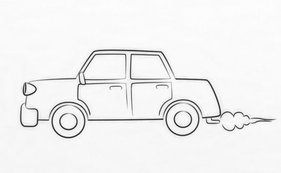 چگونه ماشین نقاشی کنیم؟