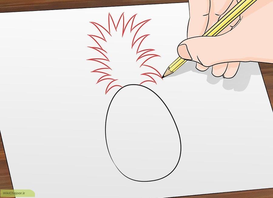 نقاشی آناناس