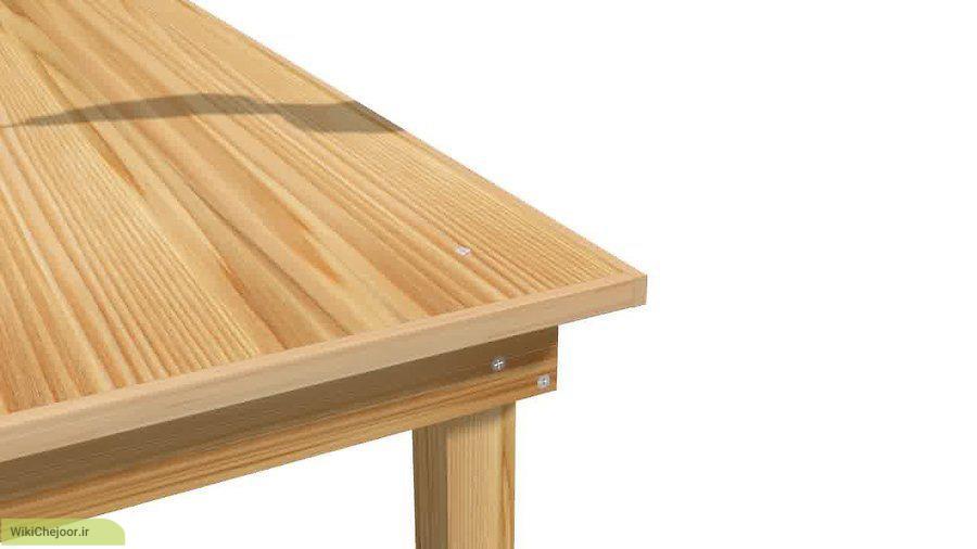نصب پایه های میز
