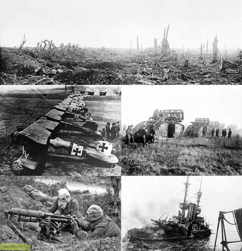 چگونه جنگ جهانی اول آغاز شد؟