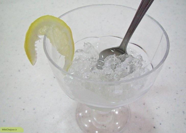 چگونه دسر برف لیمو درست کنیم؟