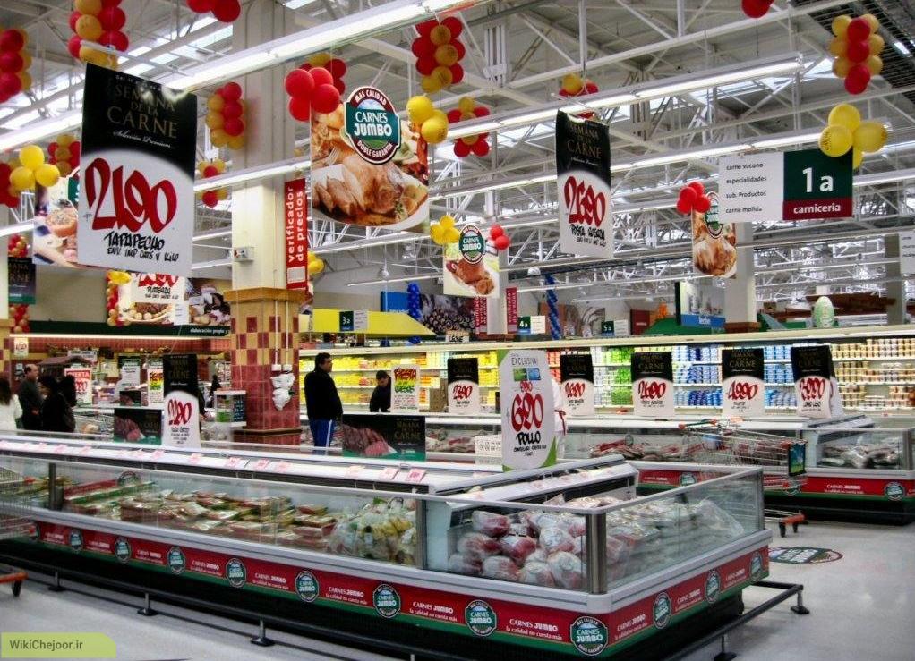 در شهر(بانک و ارز ، پست و تلفن ، رستوران ،سوپر مارکت ، میوه جات و سبزیجات ، مواد غذایی و خوراکی و آرایشگاه)