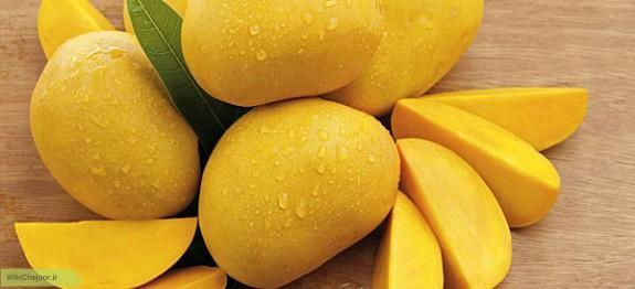 مواد لازم برای تهیه آب میوه ی انبه