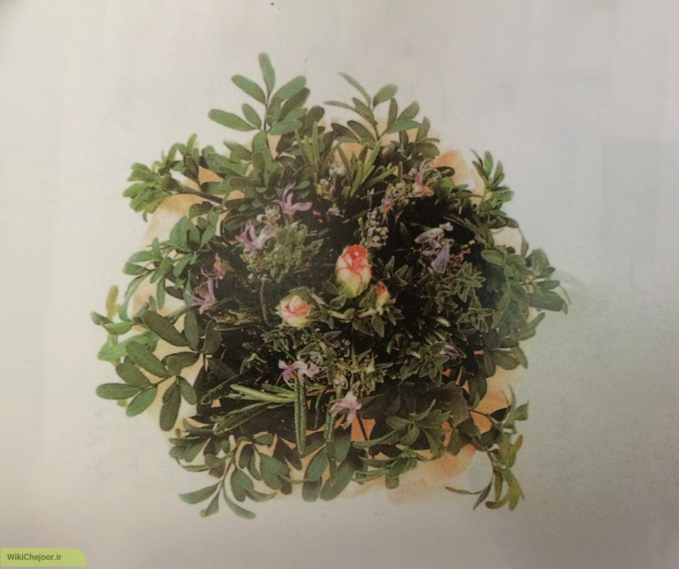 چگونه گلهای توسیه – موسیه (Tussie – Mussie) درست کنیم؟