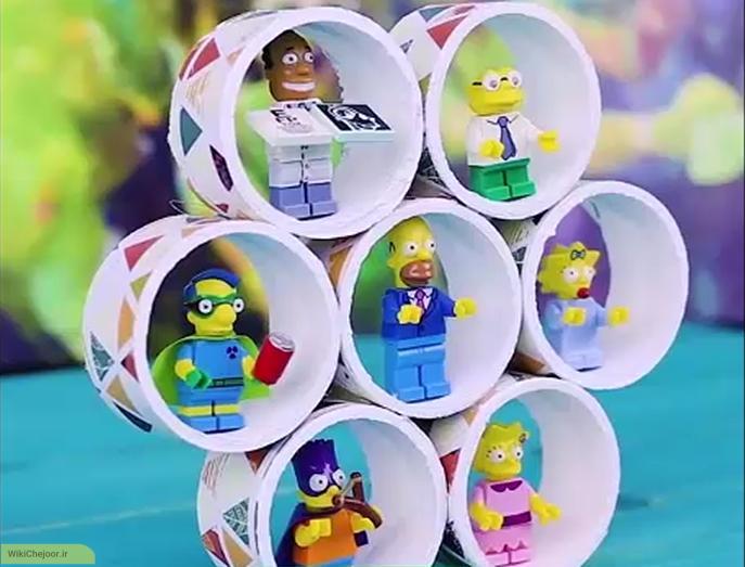 چگونه یک قفسه اسباب بازی بسازیم؟