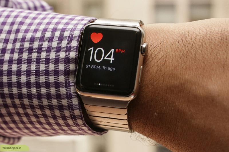 چگونه با ساعت سلامت اپل (Apple) نبض مان را چک کنیم؟