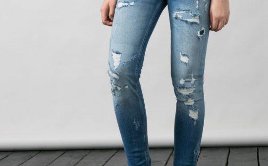 چگونه شلوار جین خود را زخم کنیم؟