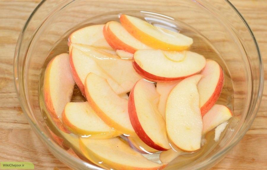 روش سوم : مربای انبه با طعم سیب