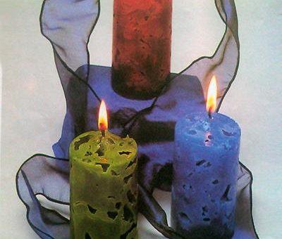 چگونه شمع های یخی بسازیم؟