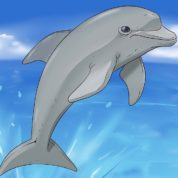 چگونه دلفین باهوش و بازیگوش نقاشی کنیم؟