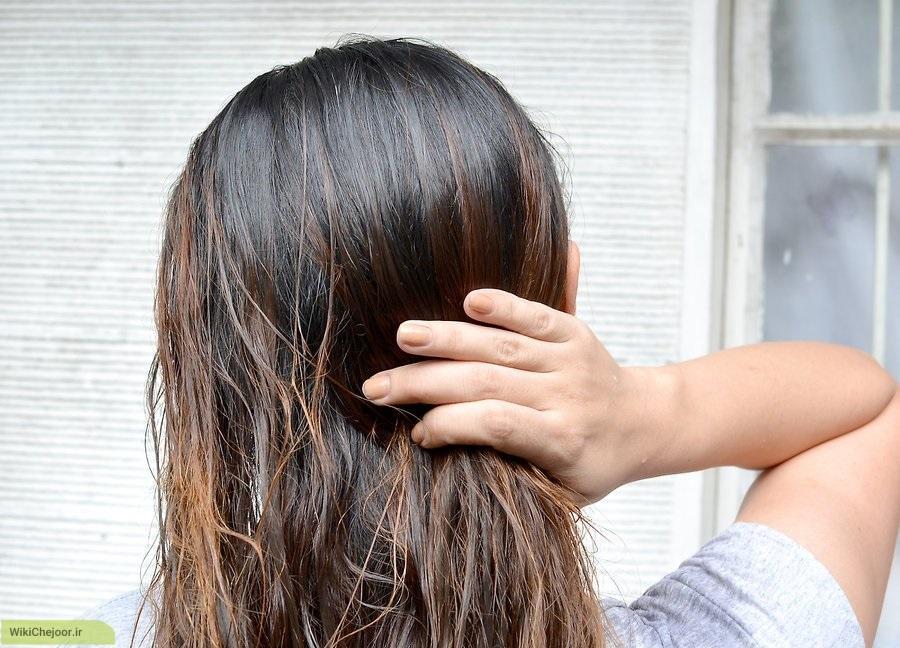 ماسک لیموترش برای موهای نرمال
