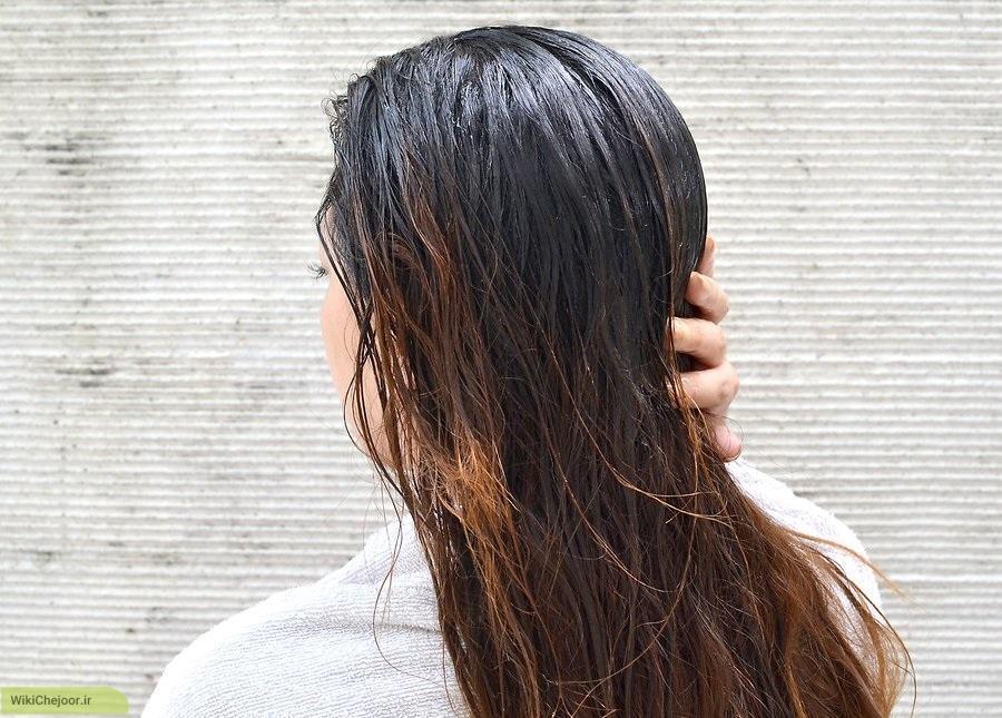 ماسک لیموترش برای موهای خشک