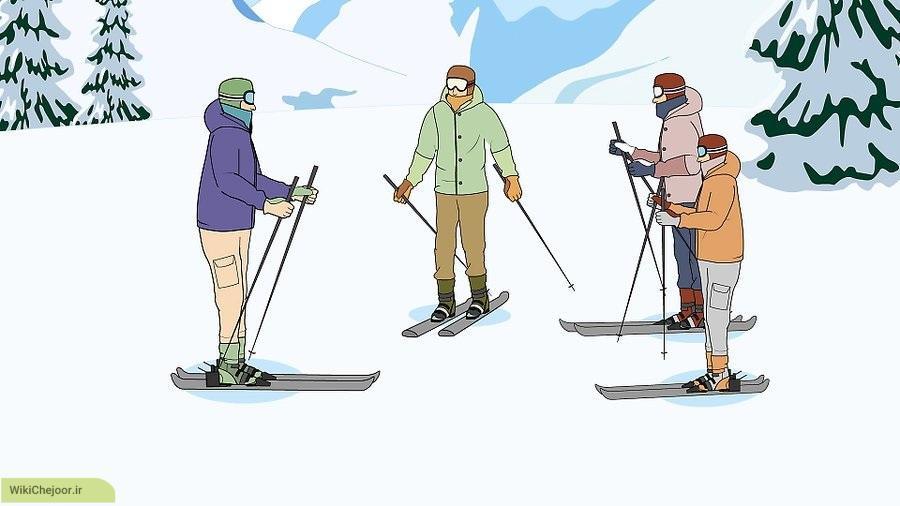 اصول پایه اسکی
