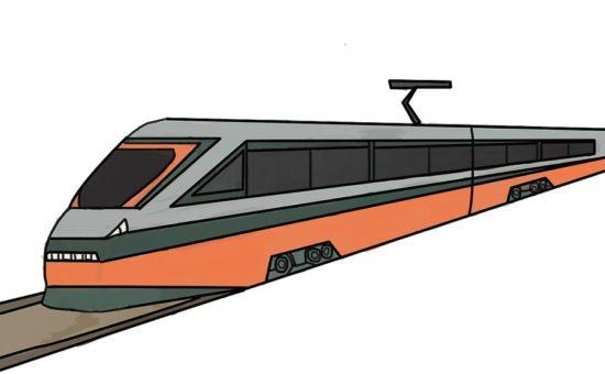 چگونه قطار سریع السیر نقاشی کنیم؟؟