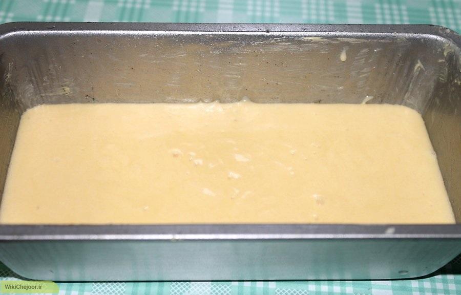 طرز تهیه کیک با طعم لیمو ترش