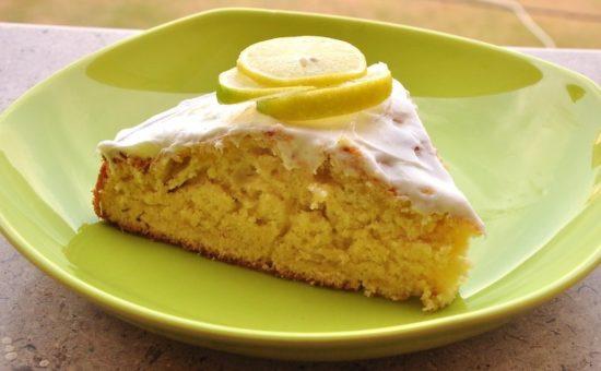 چگونه کیک کره ای،وانیلی لیمو ترش درست کنیم؟