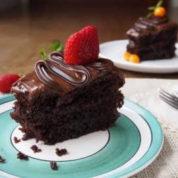کیک شکلاتی خیس | چگونه کیک شکلاتی (کیک خیس) درست کنیم؟