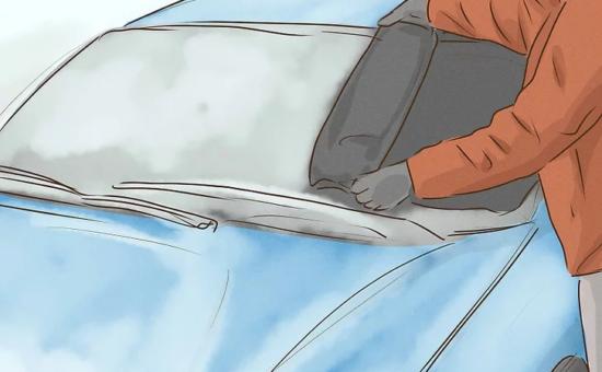 چگونه یخ زدگی شیشه خودرو را سریع پاک کنیم؟