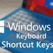 چگونه در ویندوز ۱۰ از کلیدهای میان بر استفاده کنیم ؟