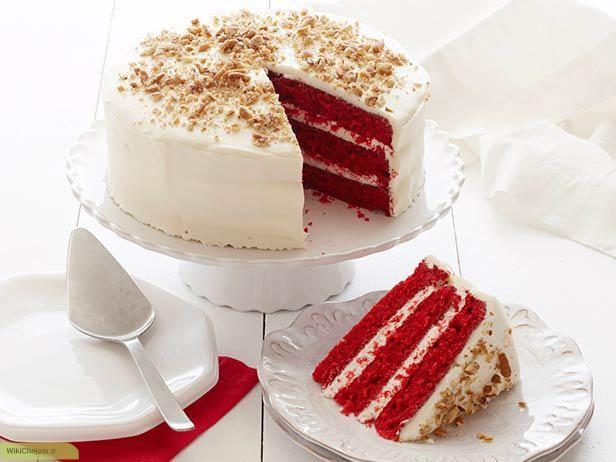 چگونه کیک مخملی قرمز درست کنیم؟