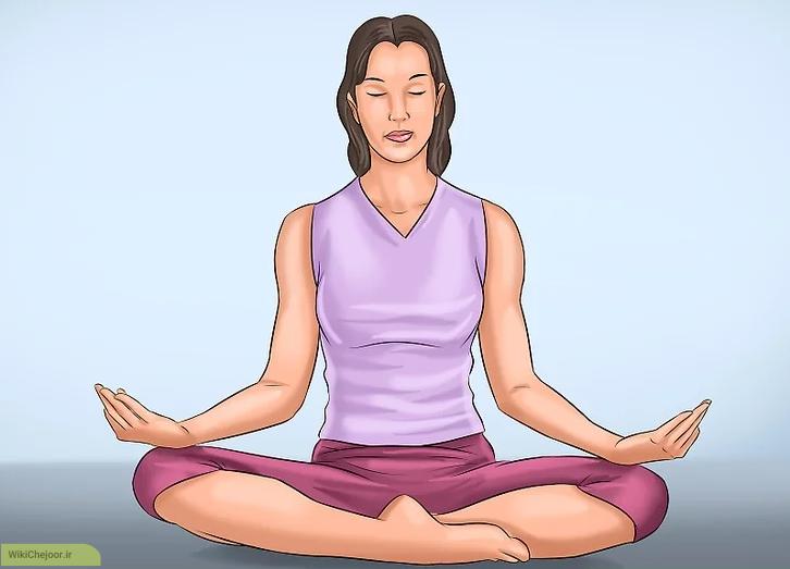 مراحل تمرین یوگا نیدرا