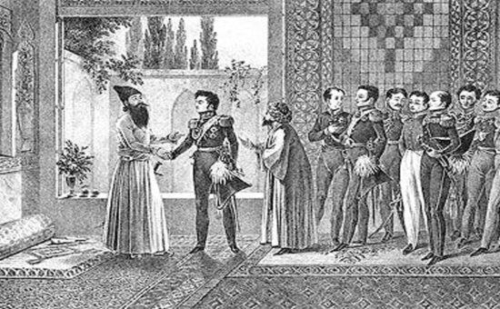 روابط روسیه و ایران در آغاز قرن نوزدهم چگونه بود؟