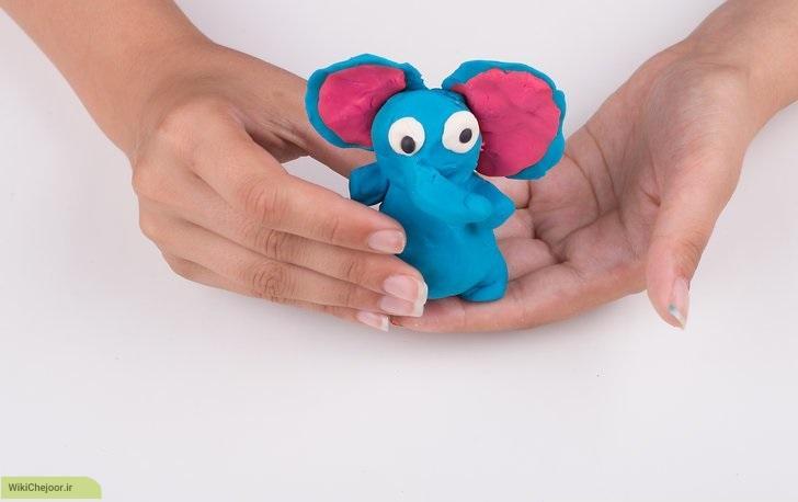 چگونه یک فیل خشتی بسازیم؟
