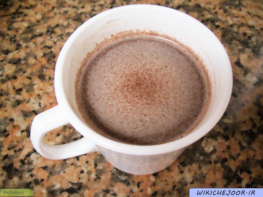 چگونه می توان ترکیب شکلات داغ درست کرد؟