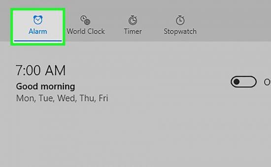 چگونه یک هشدار را در ویندوز ۱۰ تنظیم کنیم؟