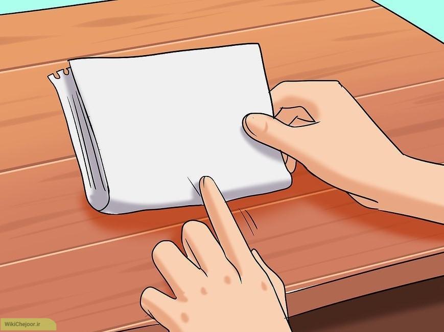 با استفاده از نوشتن
