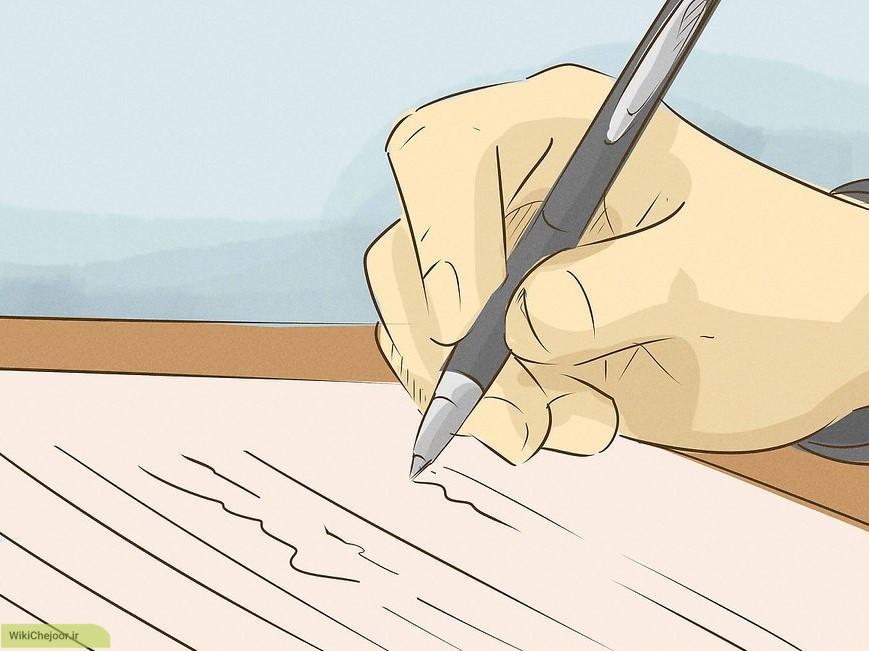 مهارت های خود را در یک لیست بنویسید